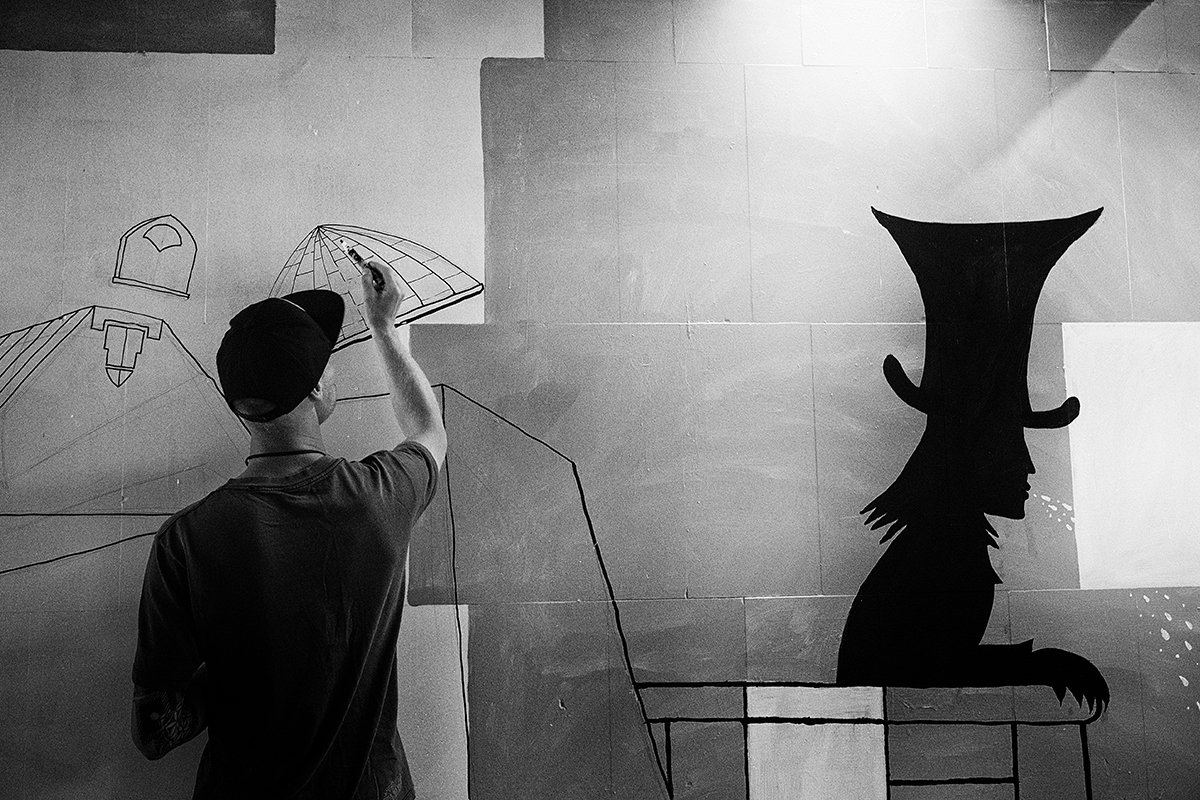 malovanie podchodu