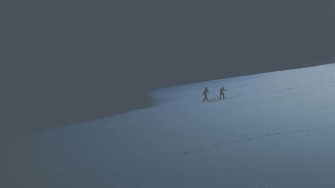 winter by Roman holý