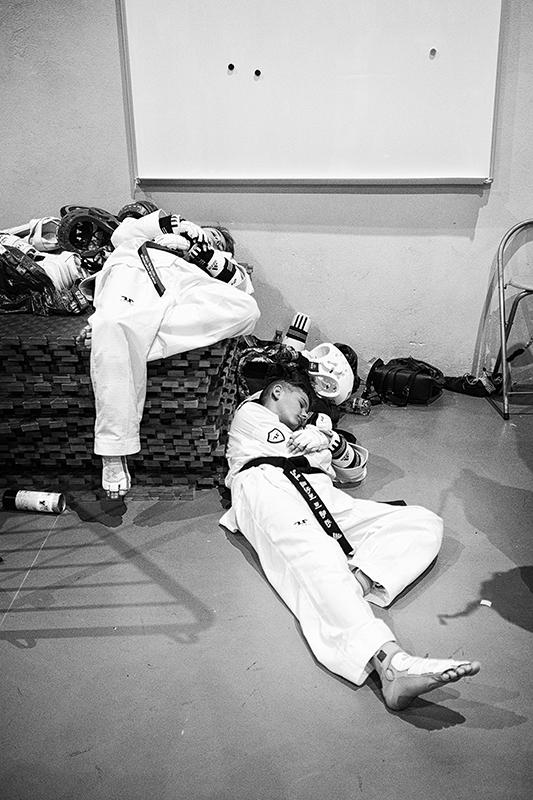 ležiaci spiaci